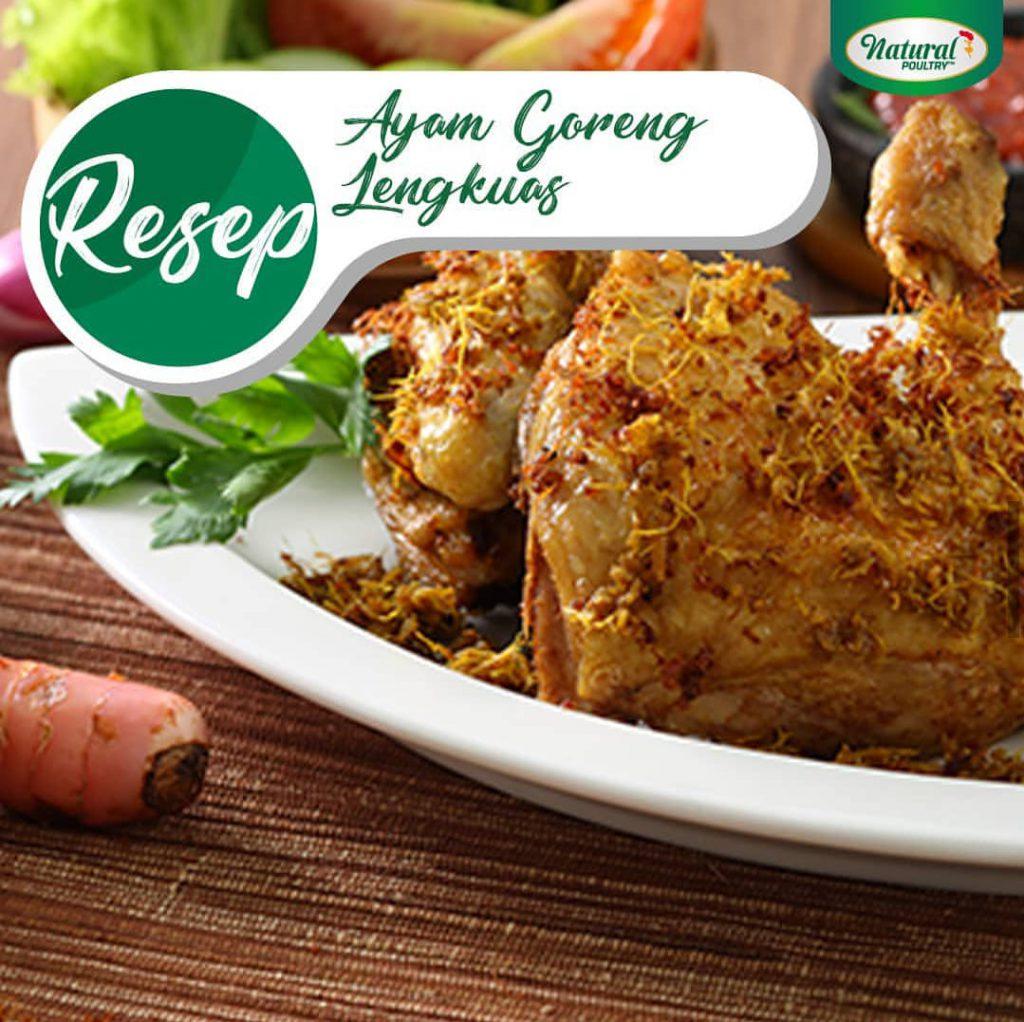 resep ayam goreng lengkuas by natural poultry