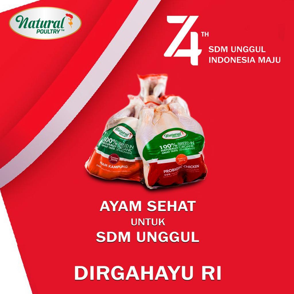 dirgahayu ri ke 74 by natural poultry