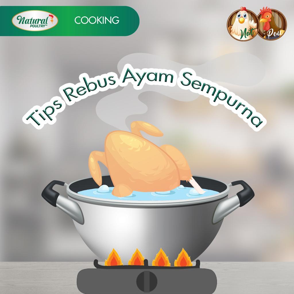 tips rebus ayam matang sempurna