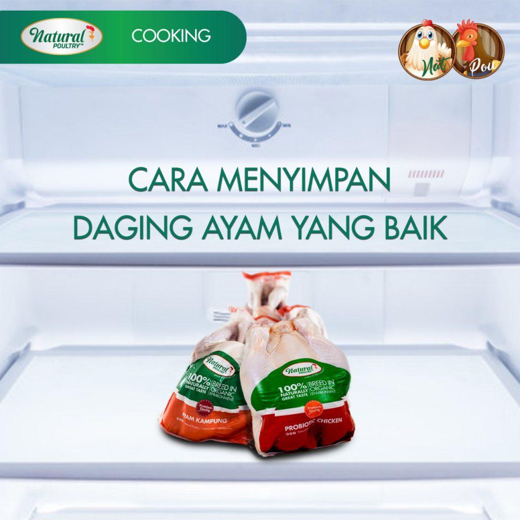 cara simpan daging ayam yang baik di kulkas