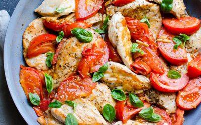Resep Dada Ayam Tomat untuk Diet