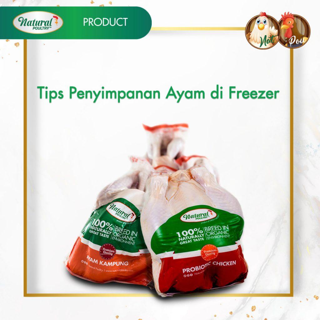tips simpan ayam di freezer by natural poultry