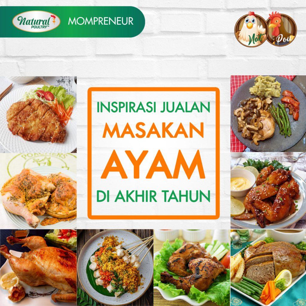 menu masakan ayam untuk jualan