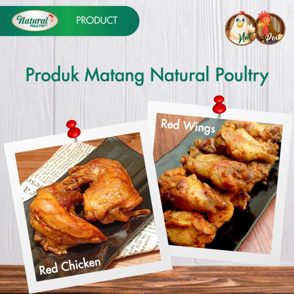 produk ayam matang natural poultry