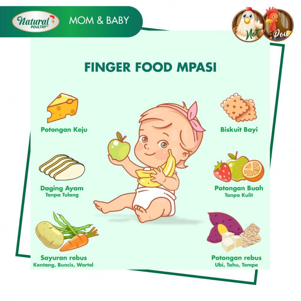 finger food mpasi