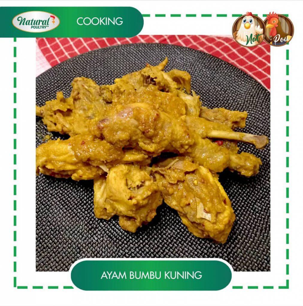 resep ayam bumbu kuning natural poultry