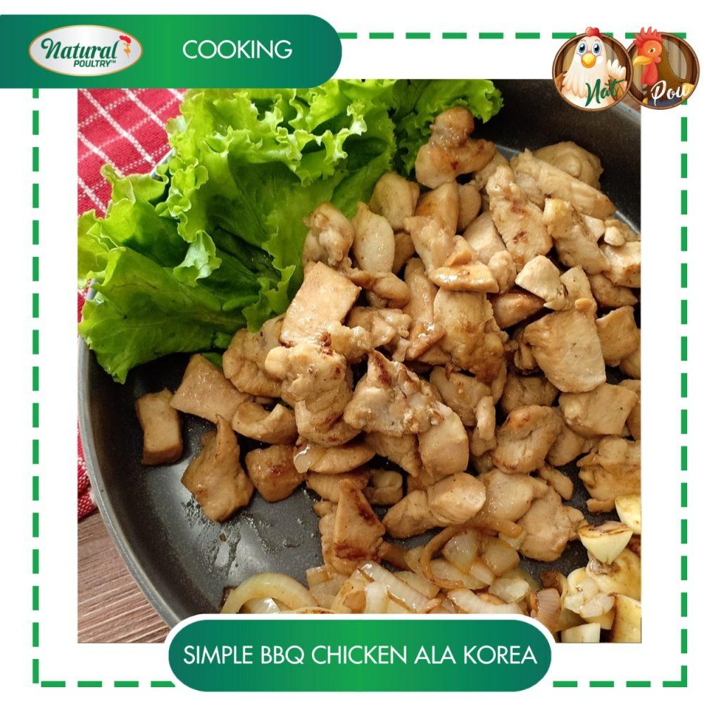Resep Ayam BBQ Korea