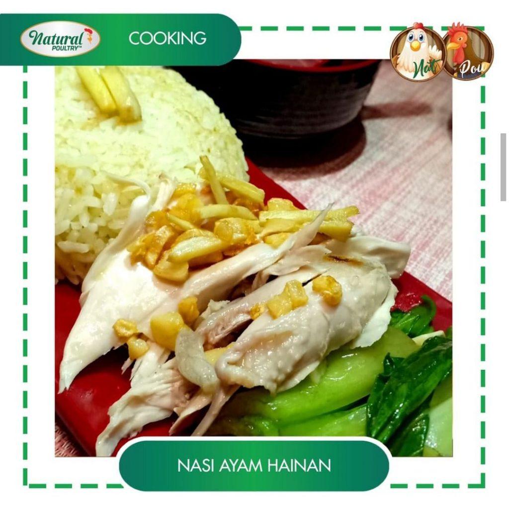 resep nasi ayam hainan by natural poultry