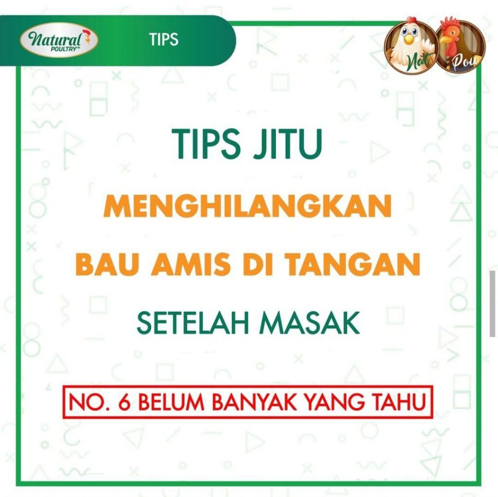 tips hilangkan bau amis