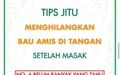 TIPS MENGHILANGKAN AMIS No 6 MENGEJUTKAN