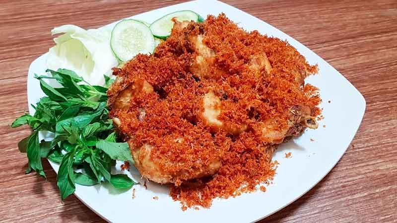 resep ayam serundeng